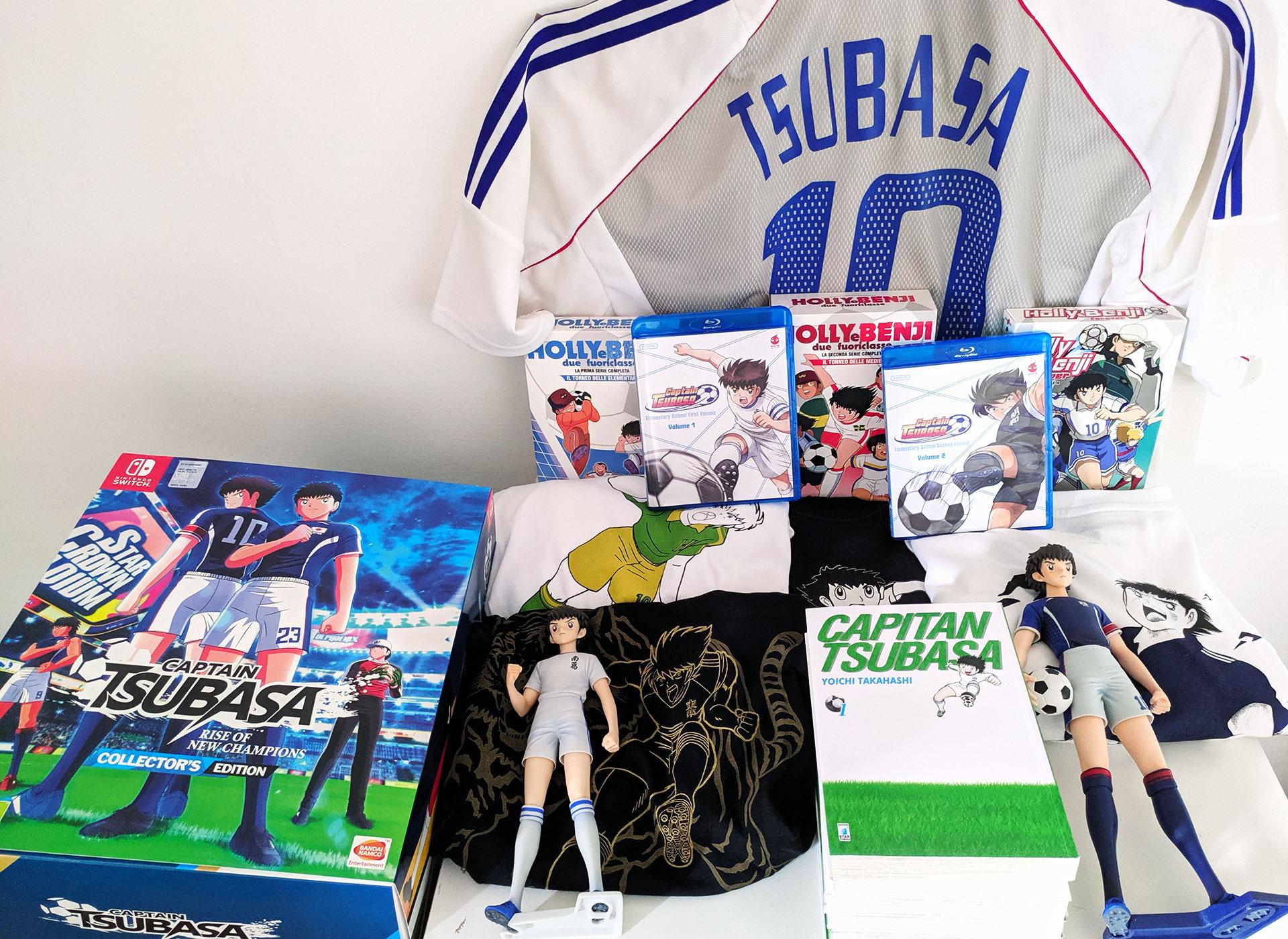 Vincitore contest Captain Tsubasa
