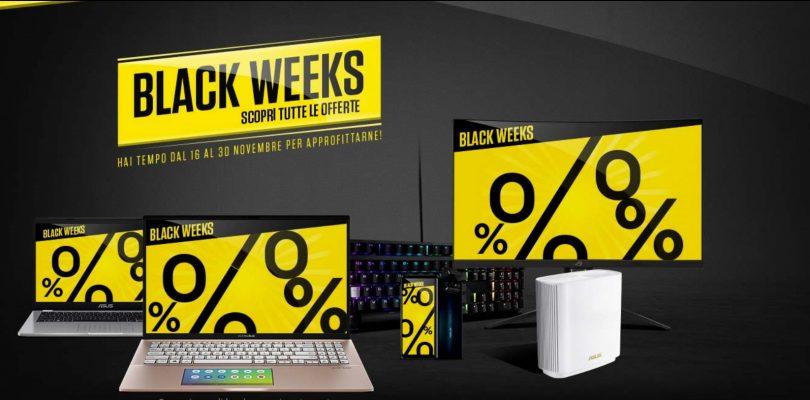 ASUS promozione black weeks