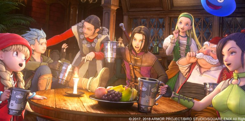 DRAGON QUEST XI S riceve una demo per PS4, Xbox One e PC