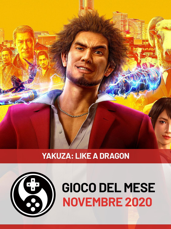 Gioco del mese di Novembre 2020 - Yakuza: Like A Dragon