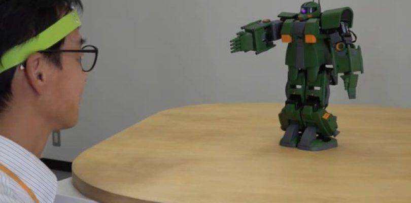 Gundam: un modellino di Zaku che si controlla con la mente