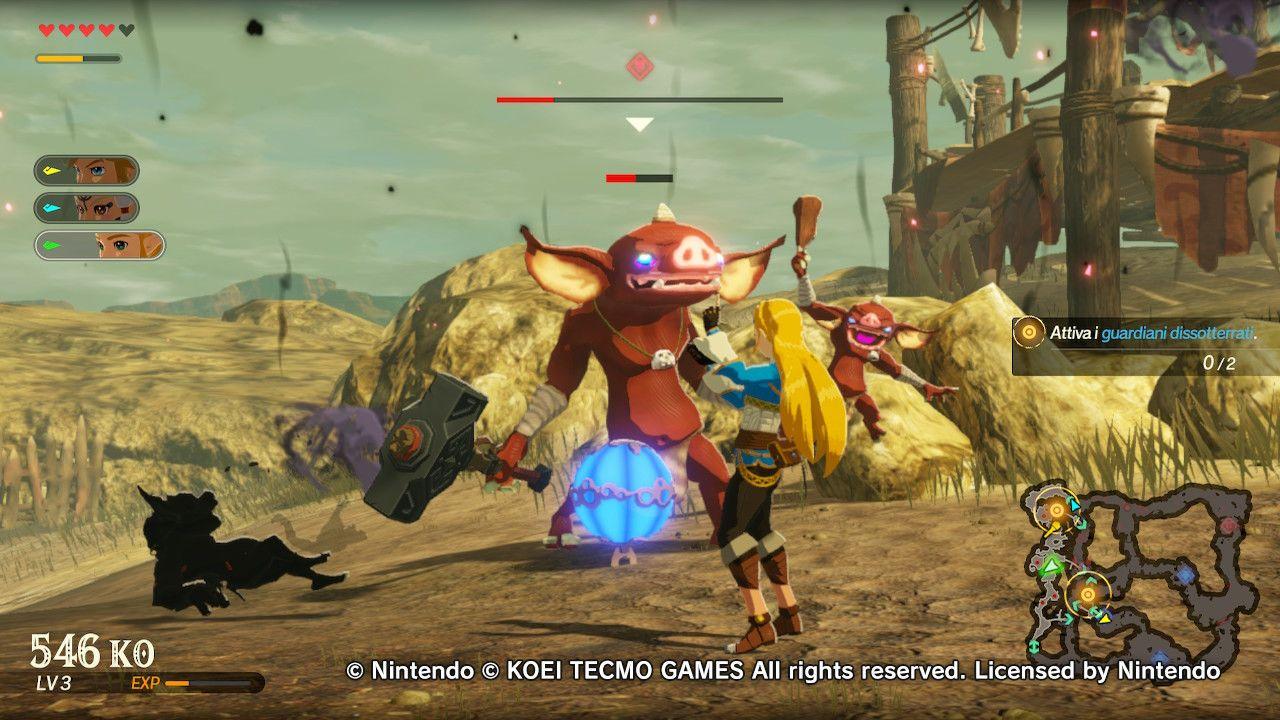 Zelda sfrutta a pieno gli Strumenti Sheikah