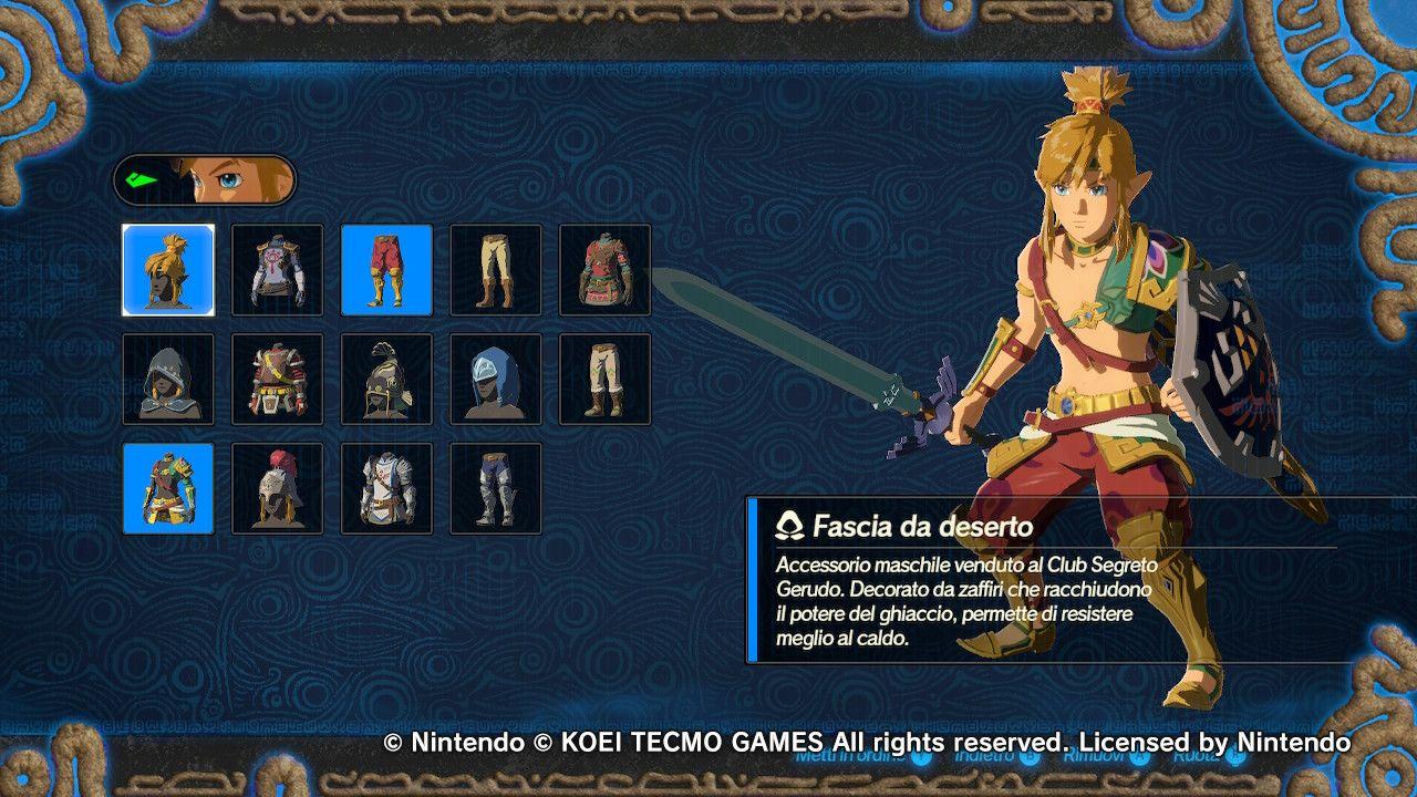 Link segue sempre le mode