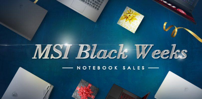 MSI Black Weeks