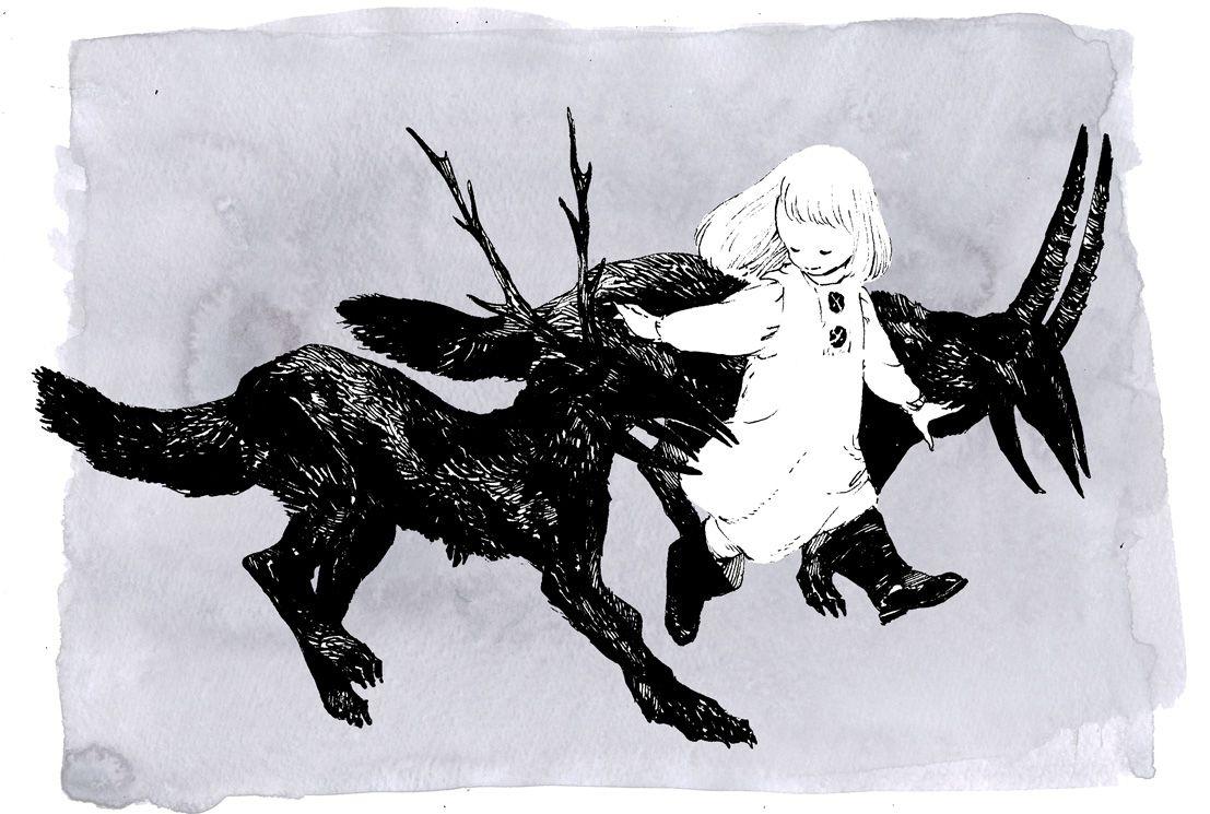 Nagabe, il narratore e la bambina