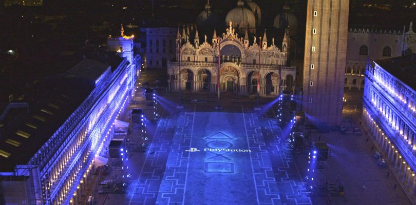 PlayStation 5: Sony celebra il lancio in Piazza San Marco a Venezia