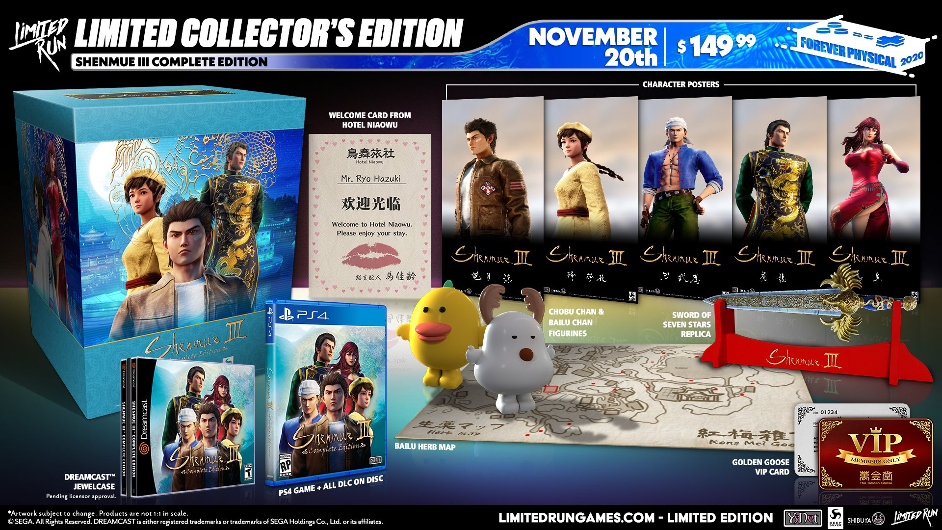 Shenmue III Complete Edition per PS4