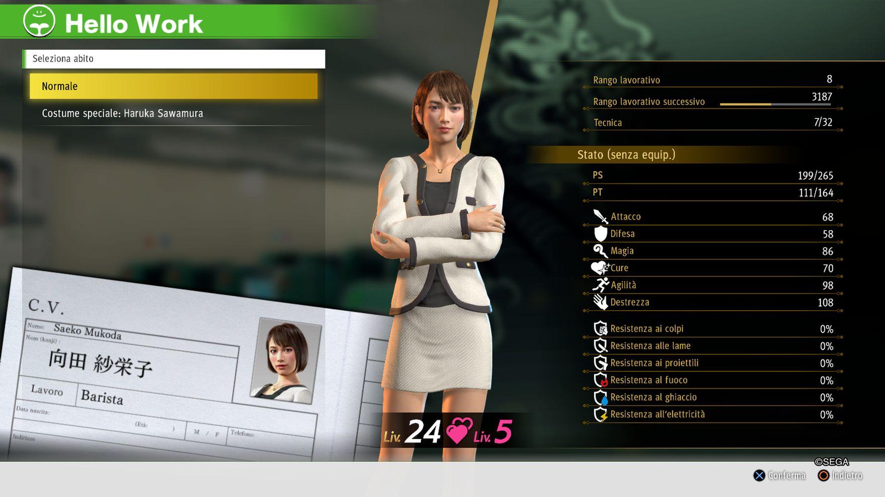 Il lavoro da Barista di Saeko si rivelerà particolarmente efficace