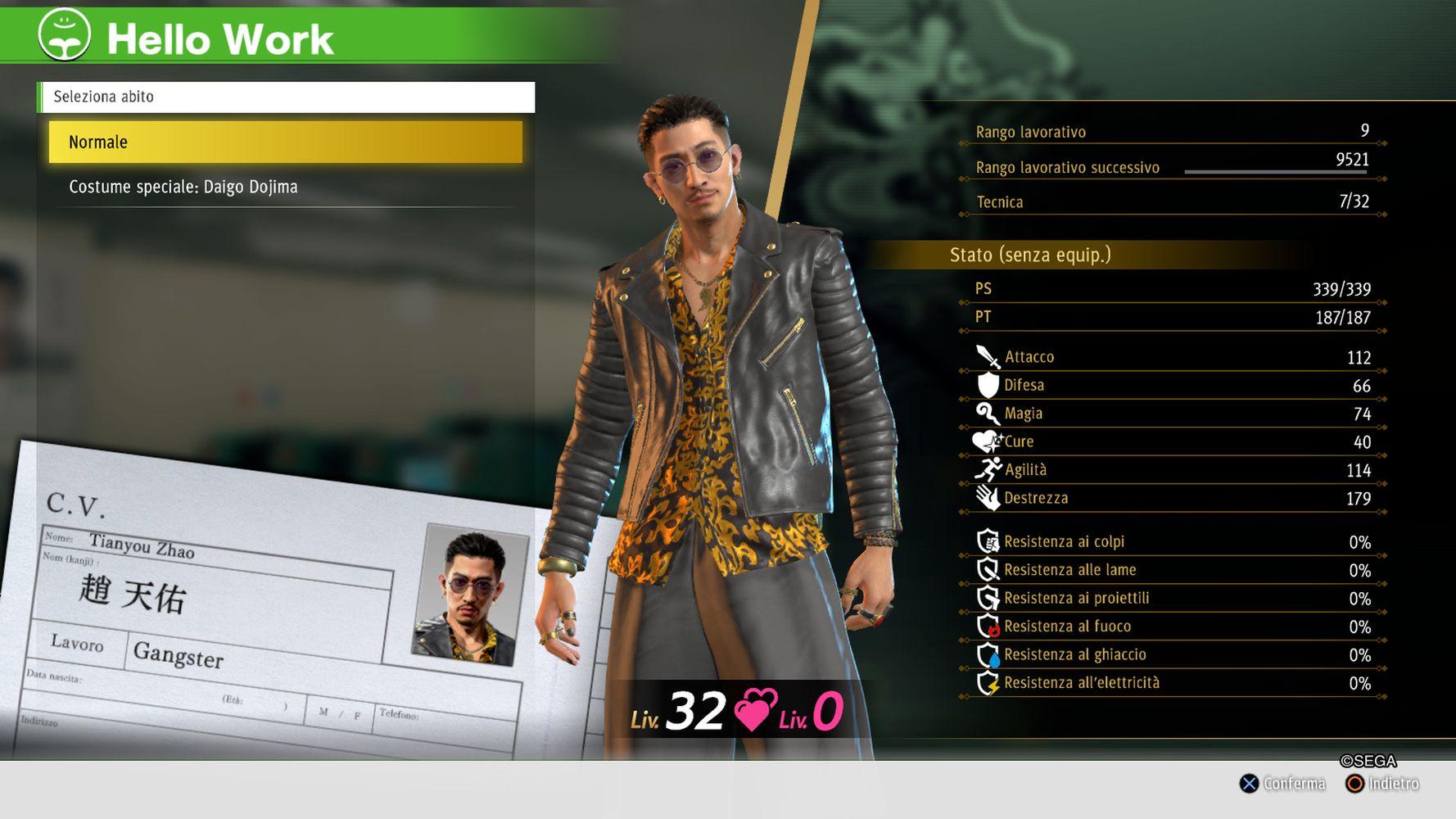Zhao il Gangster è pronto a buttarsi nella mischia