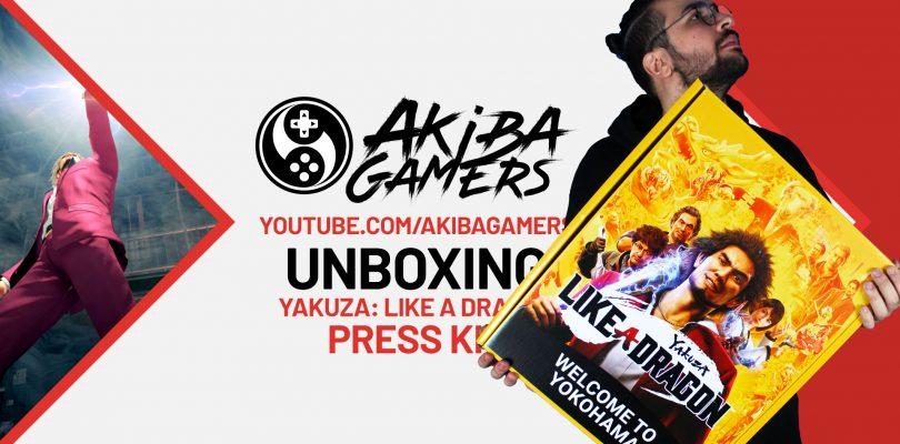 VIDEO – Yakuza: Like A Dragon - UNBOXING del misterioso Press Kit