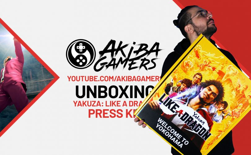 VIDEO – Yakuza: Like A Dragon - UNBOXING del misterioso Press Kit