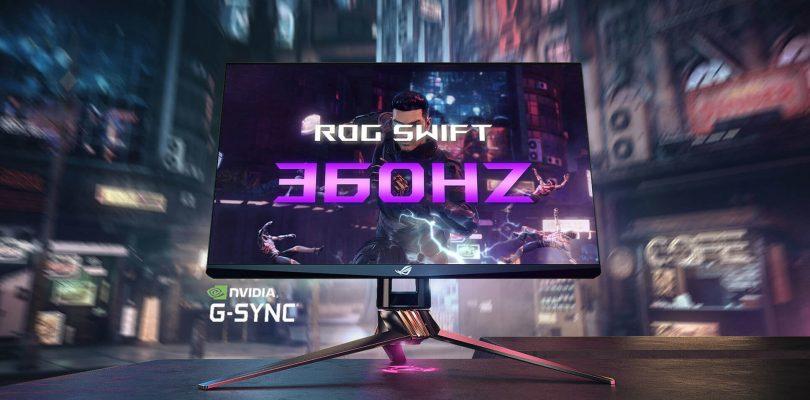 ASUS: il monitor ROG Swift 360Hz PG259QNR è ora disponibile in Italia