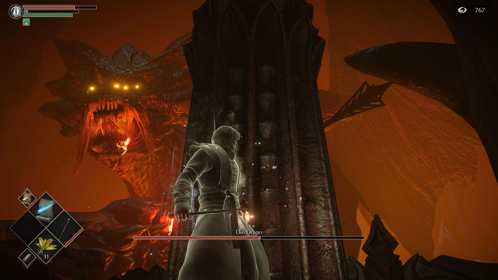 Drago divino, Demon's Souls