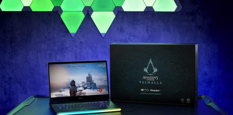 MSI: Arriva in Italia il Gaming Laptop GE66 Raider Valhalla Edition