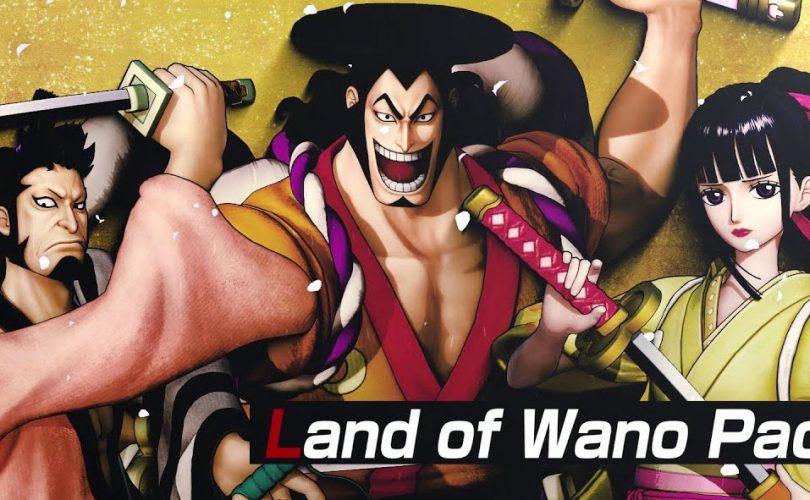 ONE PIECE: PIRATE WARRIORS 4, trailer di lancio per il Land of Wano Pack