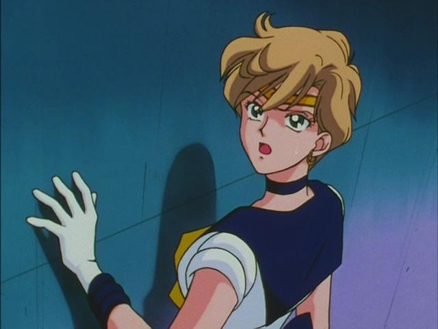 Sailor Uranus in Sailor Moon