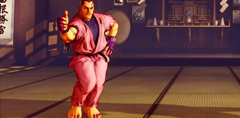 Dan Hibiki in STREET FIGHTER V: Champion Edition.