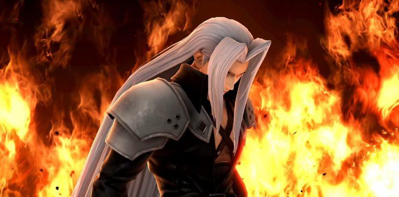 Super Smash Bros. Ultimate accoglie Sephiroth da FINAL FANTASY VII