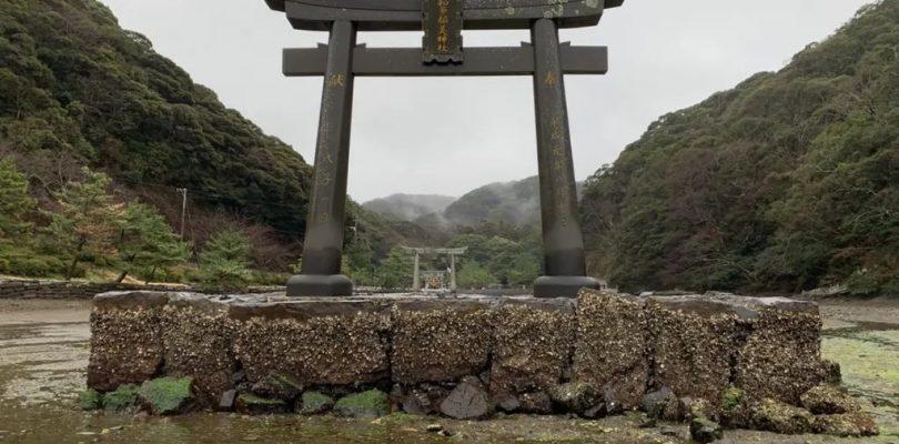 Watazumi shrine toori GHOST OF TSUSHIMA