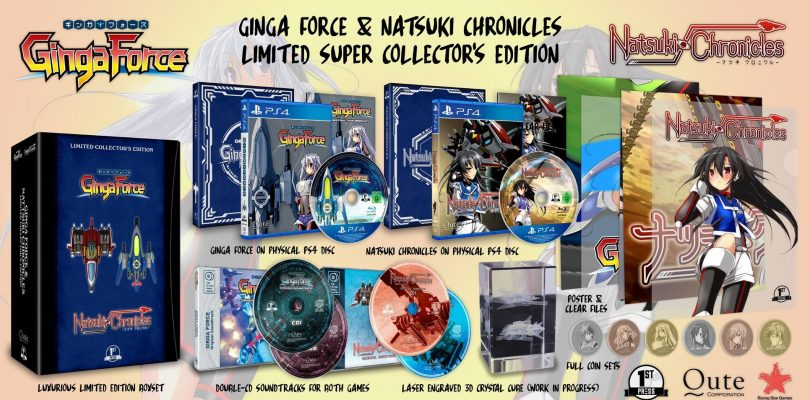 Ginga Force & Natsuki Chronicles: annunciata una limitatissima edizione retail
