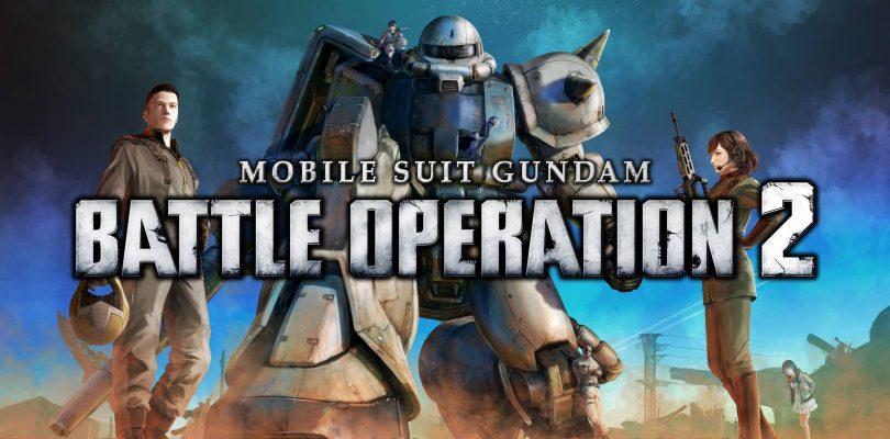 MOBILE SUIT GUNDAM BATTLE OPERATION 2 è disponibile su PS5
