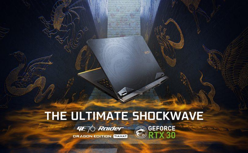 MSI presenta i nuovi laptop con NVIDIA GeForce RTX serie 30
