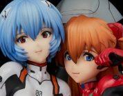 EVANGELION: Rei e Asuka immortalate nella nuova figure di Union Creative