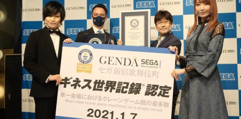 Giappone: una sala giochi di Shinjuku entra nel Guinness per numero di UFO Catcher
