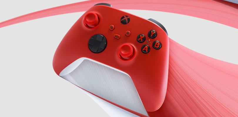 Xbox Series X: annunciato il controller Pulse Red
