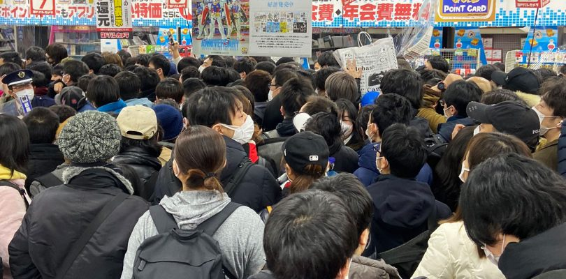 PS5: Yodobashi-Akiba preso d'assalto per nuove scorte della console