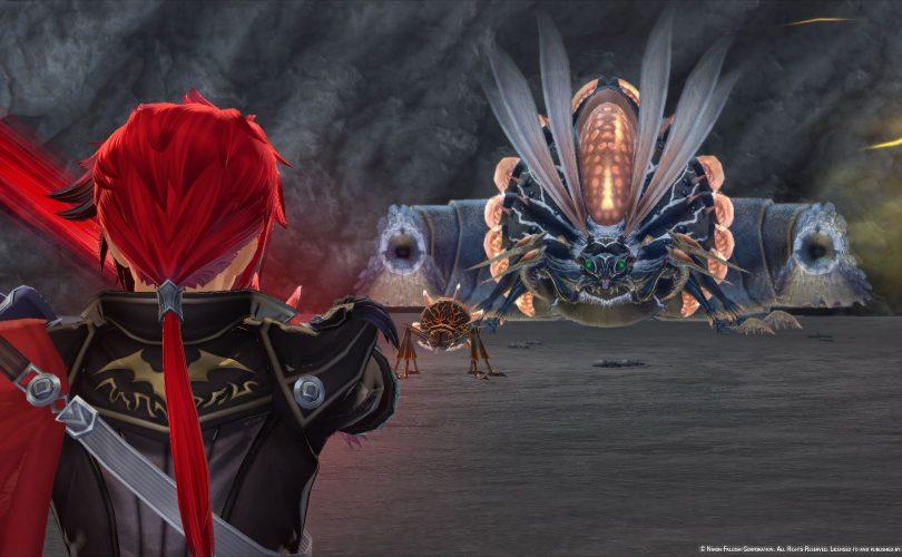 Uno dei temibili boss di Ys IX: Monstrum Nox