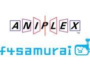 Aniplex forma un'alleanza con f4samurai