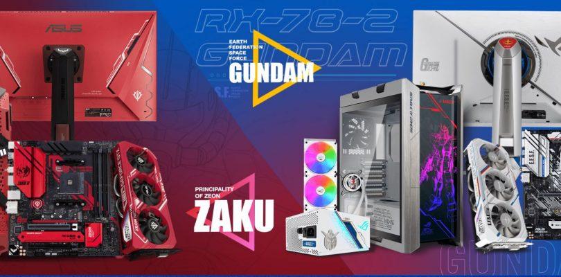 ASUS e SUNRISE collaborano per creare hardware a tema Gundam