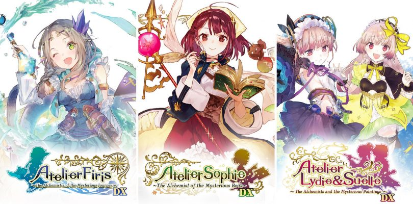 Atelier Mysterious Trilogy Deluxe Pack annunciato per aprile