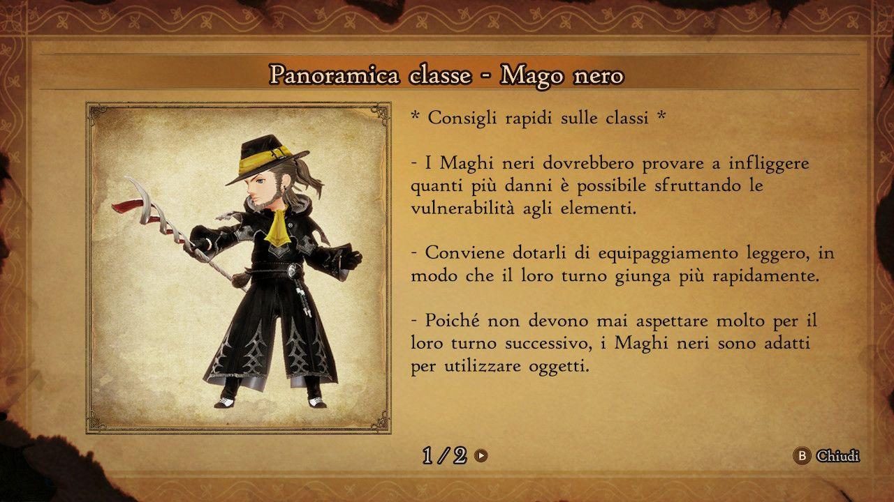 BRAVELY DEFAULT II - Mago Nero