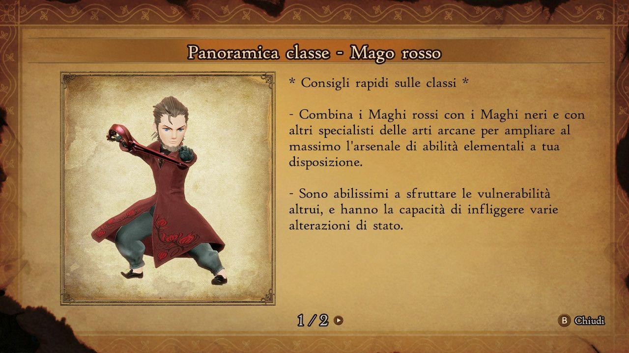 BRAVELY DEFAULT II - Mago Rosso
