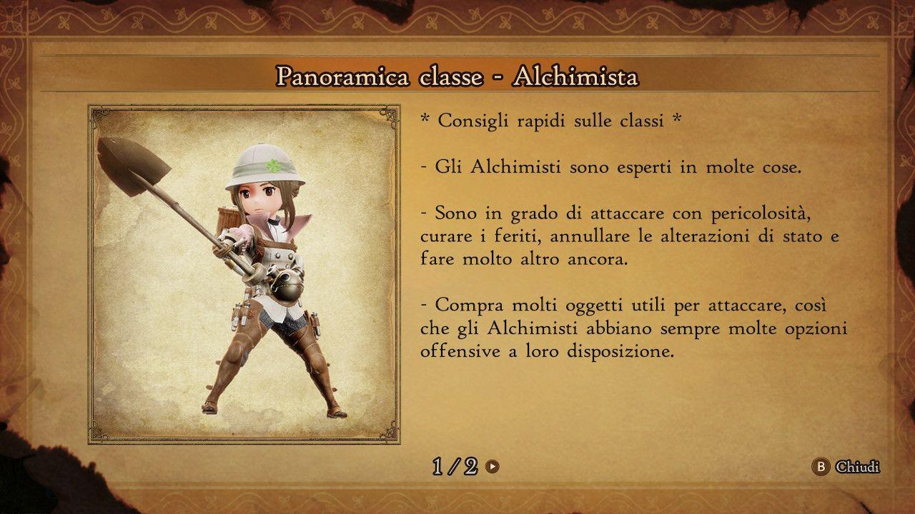 BRAVELY DEFAULT II - Alchimista