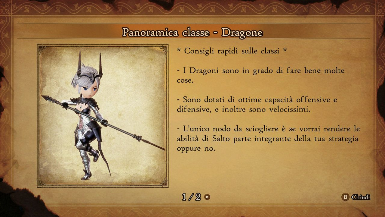 BRAVELY DEFAULT II - Dragone