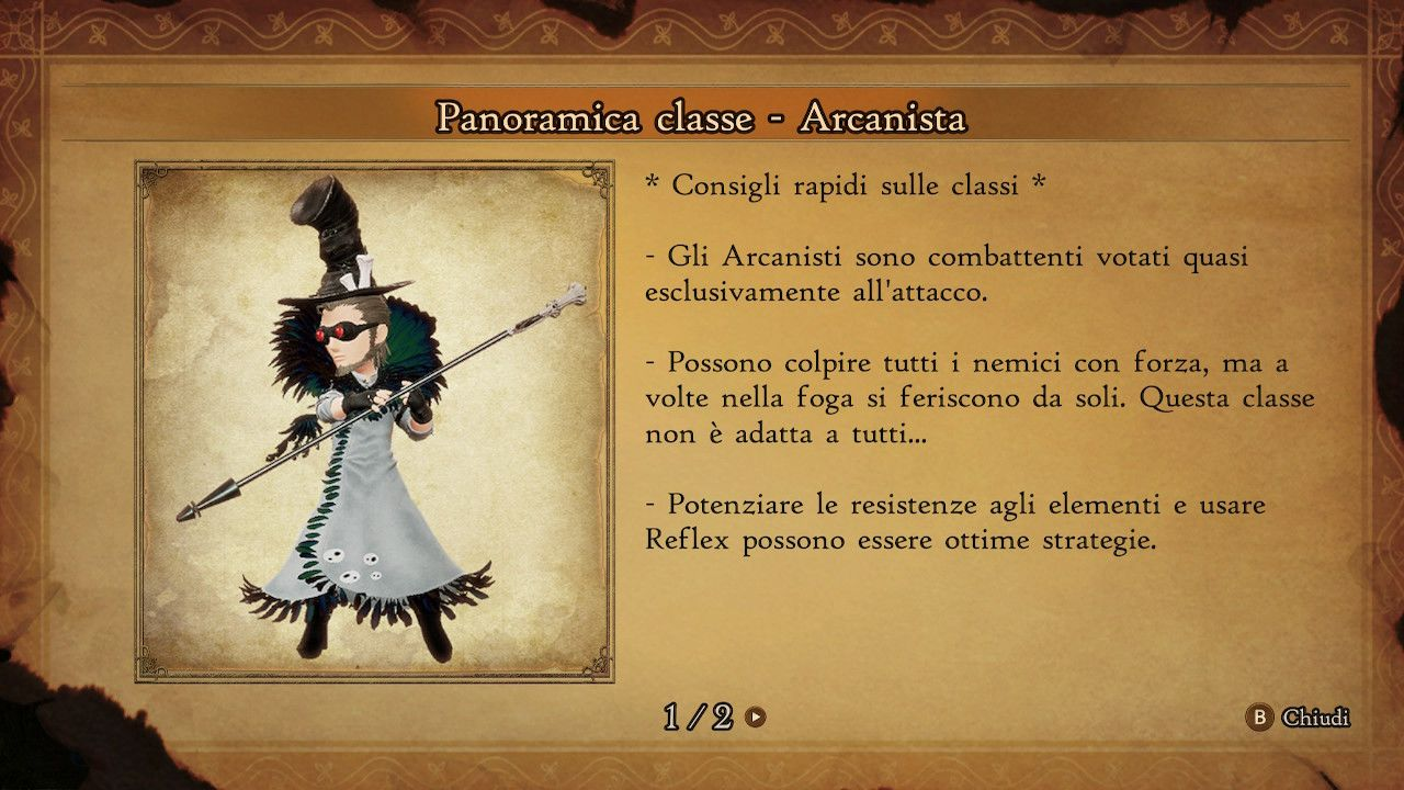 BRAVELY DEFAULT II - Arcanista
