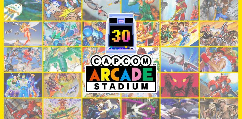 Capcom Arcade Stadium è disponibile su Nintendo Switch