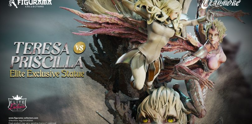 Claymore Teresa vs. Priscilla Elite Exclusive Statue di Figurama Collectors