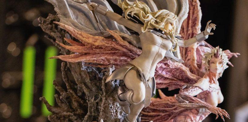Claymore Figurama Collectors Teresa vs Priscilla Elite Exclusive Statue