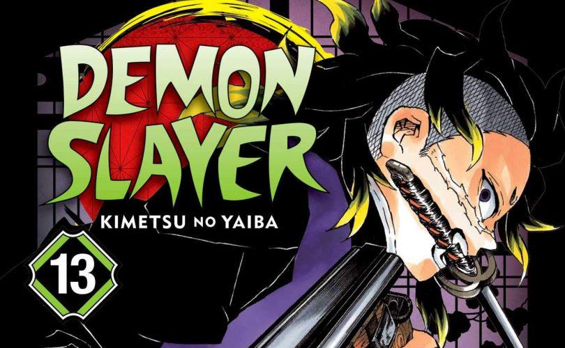 DEMON SLAYER: due speciali gadget per il volume 13