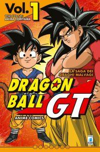 DRAGON BALL GT ANIME COMICS esordisce in Italia questo mese