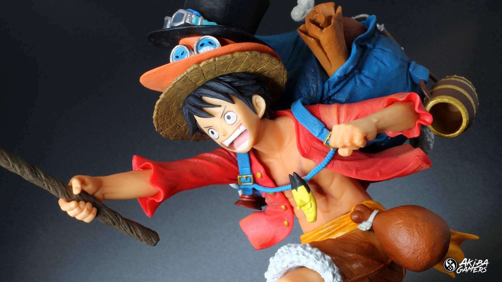 ONE PIECE: recensione della figure THREE BROTHERS dedicata a Luffy