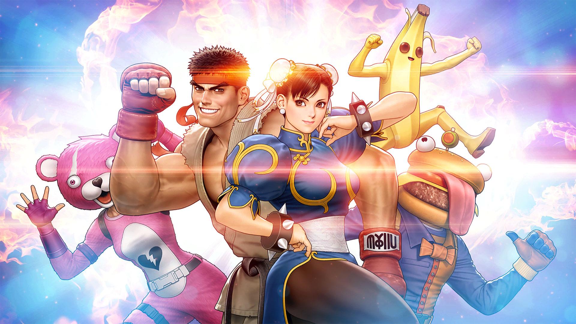 Shinkiro, Street Fighter x Fortnite