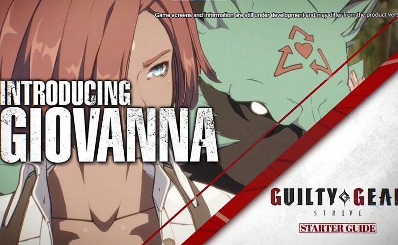GUILTY GEAR -STRIVE- Giovanna Starter Guide
