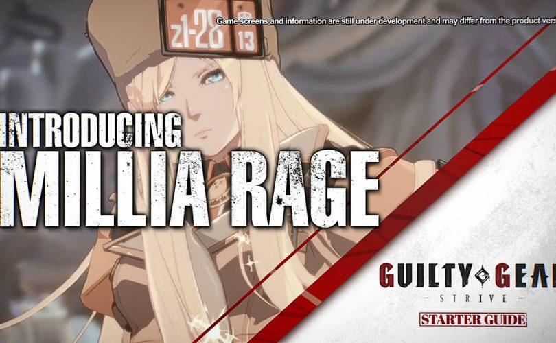 GUILTY GEAR STRIVE Starter Guide Millia Rage