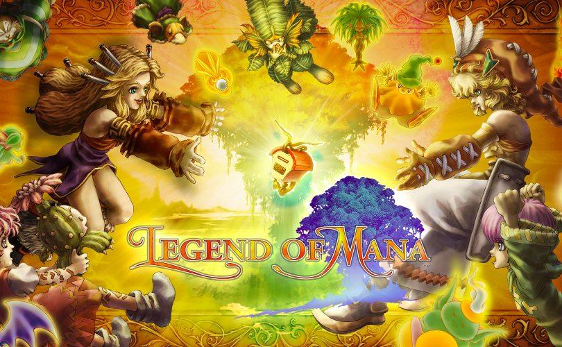 Legend of Mana: annunciato il remaster per PS4, Switch e PC