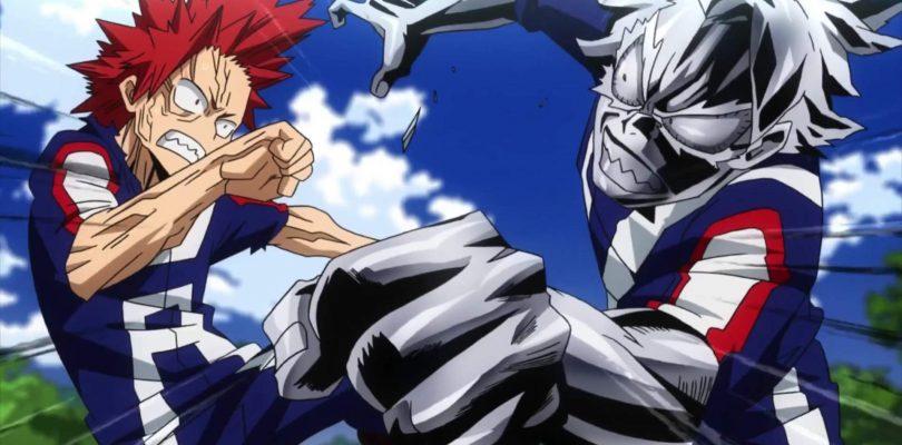 Tetsutetsu Tetsutetsu arriva in MY HERO ONE'S JUSTICE 2